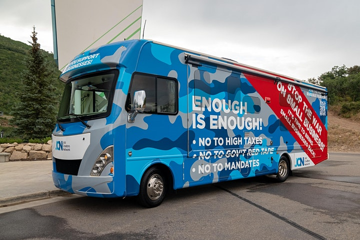 2021 Bring Back Small Business Bus Tour -Waukesha, WI image
