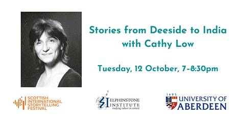 Stories from Deeside to India with Cathy Low tickets