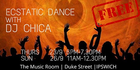 Ecstatic Dance with DJ Chica tickets