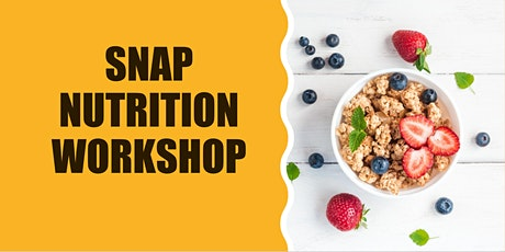 SNAP into Action Workshop tickets