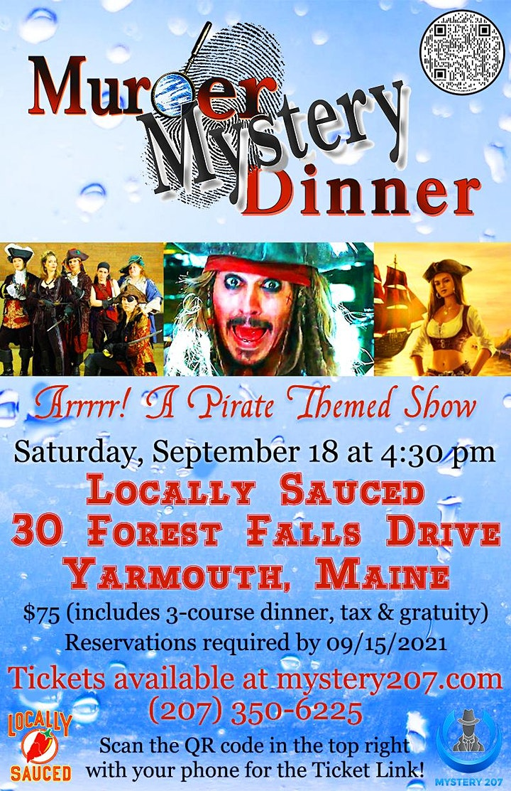 Pirate Themed Murder/Mystery Dinner Theater at Locally Sauced image