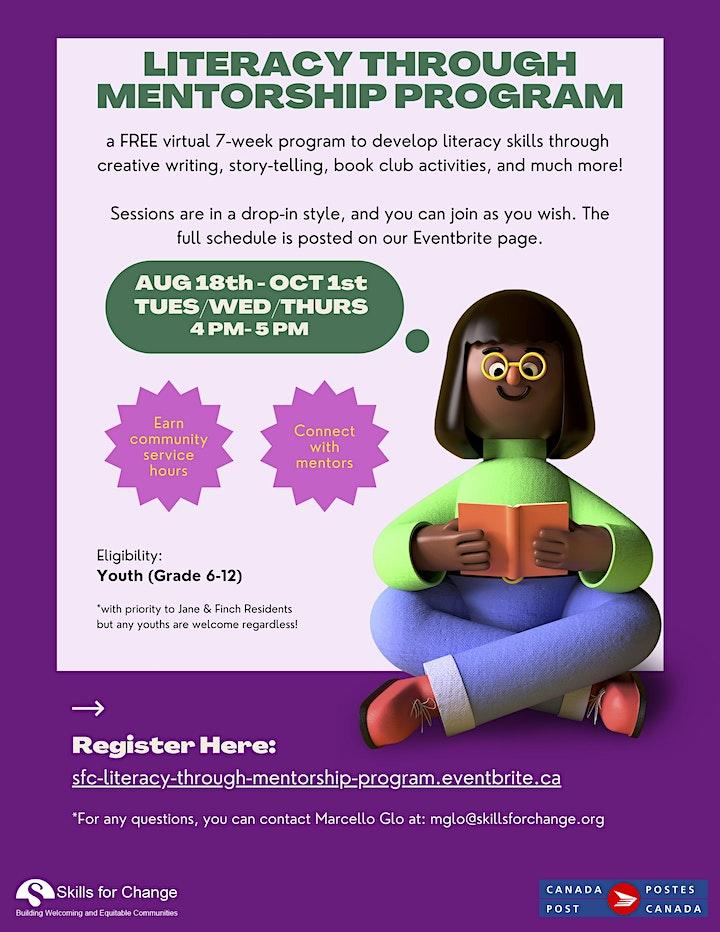 Literacy Through Mentorship Program image