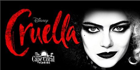 Movie in the Park Featuring Cruella tickets