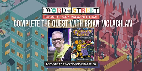 Workshop: Complete the Quest with Brian McLachlan tickets