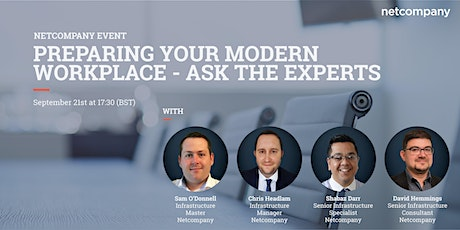 Preparing your Modern Workplace – Ask the Experts tickets