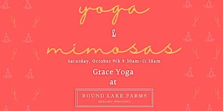 Grace Yoga & Mimosas at Round Lake Farms tickets