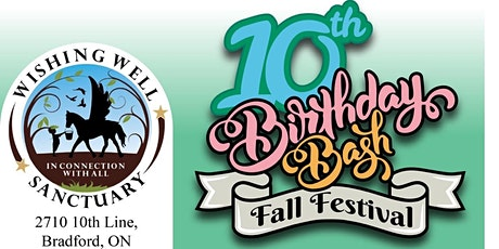 Wishing Well Sanctuary 10th Birthday Bash & Fall Festival tickets