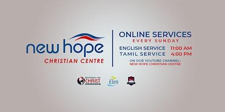 Tamil Sunday Service tickets