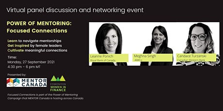 Panel discussion and networking event: Power of Mentoring tickets