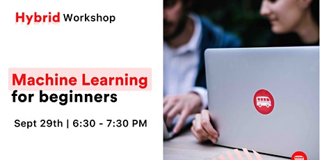 [Workshop] Machine Learning for Beginners tickets