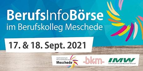 BerufsInfoBörse im Berufskolleg Meschede 2021 Tickets