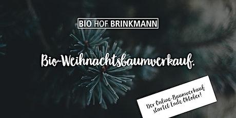 Bio-Weihnachtsbaumverkauf. Tickets