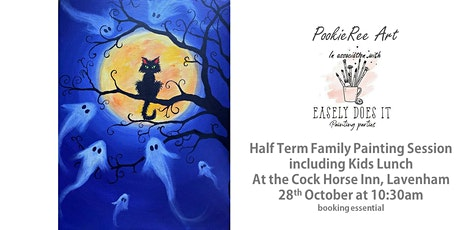 Family paint session & lunch - Let's Get Spooky! - Lavenham - 28th Oct (HT) tickets