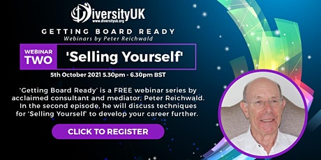 Getting Board Ready: Selling Yourself tickets