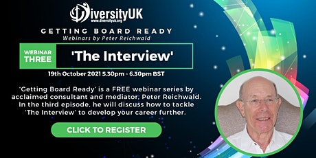 Getting Board Ready: The Interview tickets