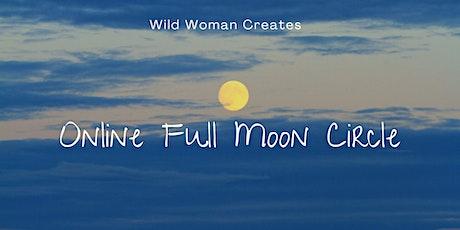 Full Moon & Equinox Eve Circle (online) tickets
