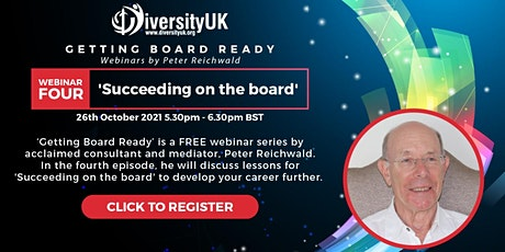 Getting Board Ready: Succeeding on the Board tickets