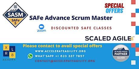 SAFe Advanced Scrum Master Certification tickets
