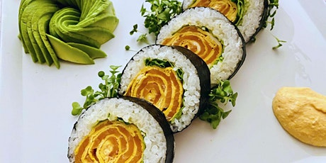 Japanese Maki Rose Sushi - Online Cooking Class by Cozymeal™ tickets