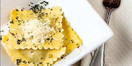 Handmade Ravioli and Tiramisu - Online Cooking Class by Cozymeal™ tickets