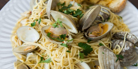 Italian Seafood Classics - Online Cooking Class by Cozymeal™ tickets