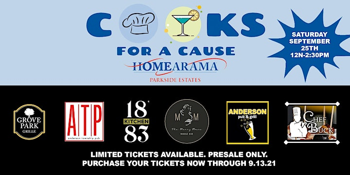 Cooks For A Cause at HOMEARAMA 2021 - 9.25.21 image