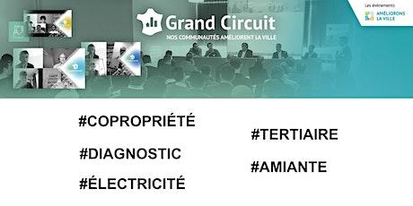 Grand Circuit #COPROPRIÉTÉ #TERTIAIRE #DIAGNOSTIC #AMIANTE #ÉLECTRICITÉ billets