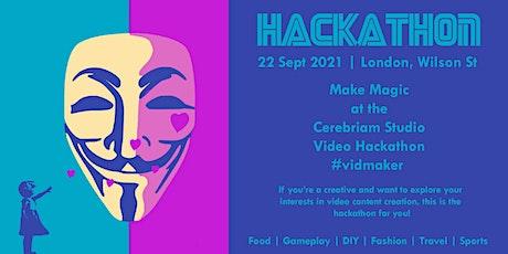 Make Magic at the Cerebriam Studio Video Hackathon #vidmaker tickets