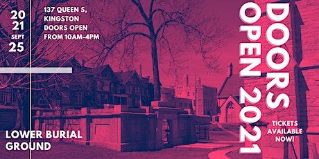 Doors Open Kingston 2021 - Lower Burial Ground tickets