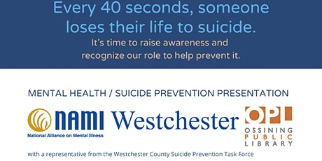 Mental Health and Suicide Prevention Awareness tickets