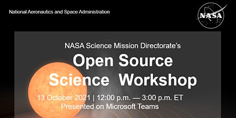 NASA Open Source Science Workshop tickets
