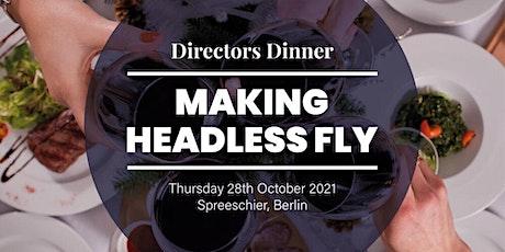 Directors Dinner Berlin tickets