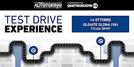 TEST DRIVE con AUTOTORINO/QUATTRORUOTE c'è biglietti