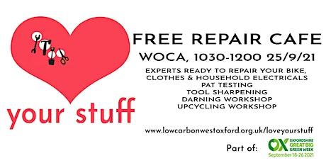 Free Darning Workshop tickets