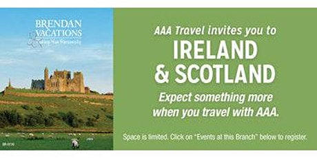 Discover Ireland and Scotland with Brendan tickets