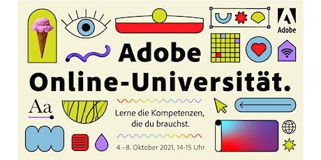 Adobe Online Universität, 4.-8. Oktober 2021 Tickets