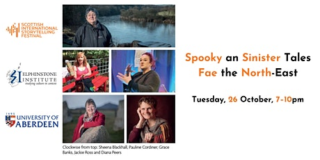 Spooky an Sinister Tales fae the North-East tickets