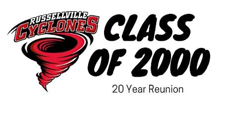 RHS Class of 2000 - 20 Year Reunion tickets