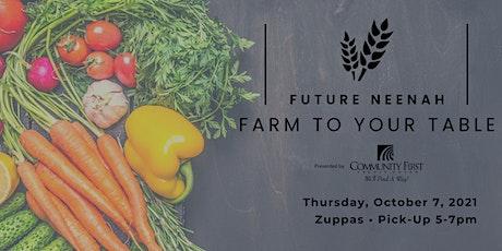 Farm To Your Table ingressos