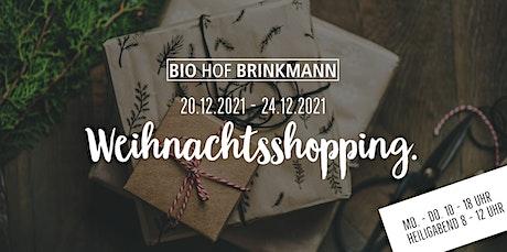 SPEISEKAMMER Weihnachtsshopping - unsere Öffnungszeiten vor Weihnachten! Tickets