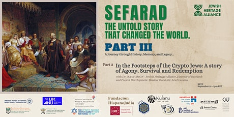 SEFARAD - The Untold Story That Changed The World Part 3 tickets