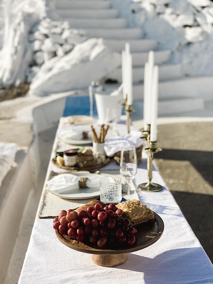 Santorini Picnic image