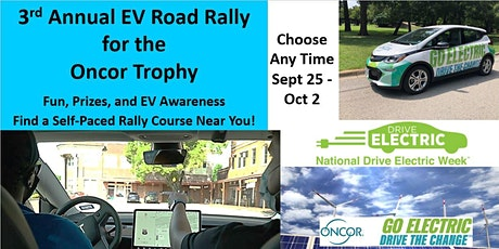 National Drive Electric Week - North and East Texas EV Road Rallies tickets
