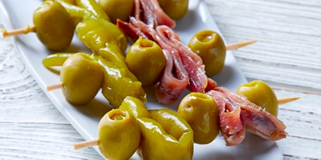 Authentic Spanish Tapas and Sangria - Online Cooking Class by Cozymeal™ tickets