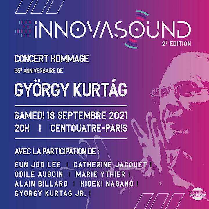Image pour Festival INNOVASOUND | Ghislaine Petit-Volta (17h) – Hommage à Kurtág (20h)