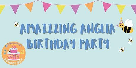 Amazzzing Anglia Birthday Party boletos