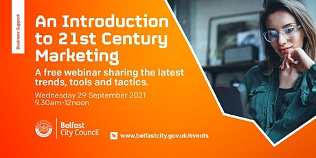 Introduction to 21st Century Marketing tickets