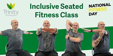 Inclusive seated fitness class for all on National Fitness Day tickets