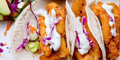 Caribbean-Style Fish Tacos and Margaritas - Online Cooking Class by Cozymeal™ tickets