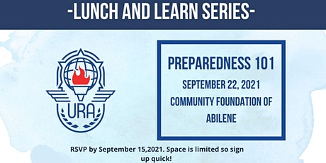 Preparedness 101 Lunch and Learn tickets